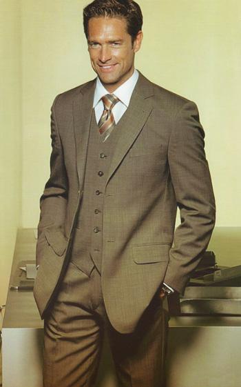 Suit With Vest Louis Tailor Pattaya Thailand