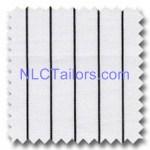 Black Stripes 018 - bespoke Stripes shirts - New Look Collection Tailors, Pattaya