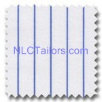 Blue Stripes 018 - bespoke Stripes shirts - New Look Collection Tailors, Pattaya