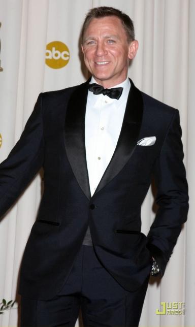 Daniel Craig in Mid Night Blue Tuxedo