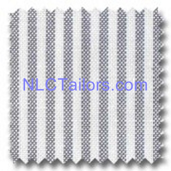 Grey Stripes - bespoke Stripes shirts - New Look Collection Tailors, Pattaya