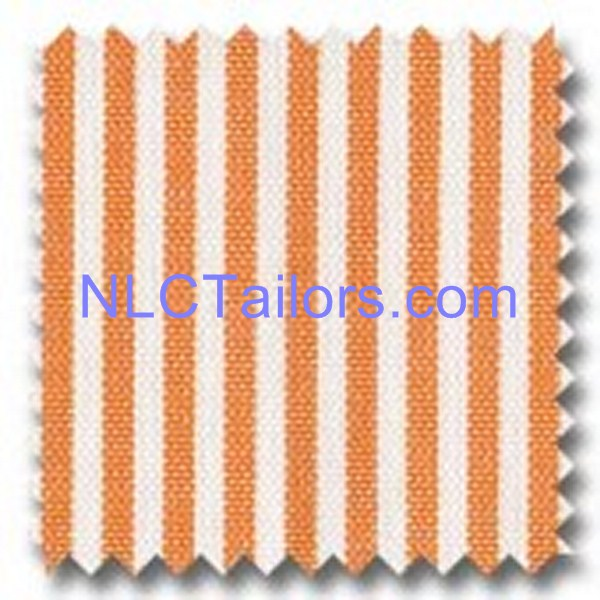 Orange Thick Stripes - Custom made Stripes shirts - New Look Collection Tailors, Pattaya