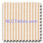 Orange Thin Stripes - Custom made Stripes shirts - New Look Collection Tailors, Pattaya