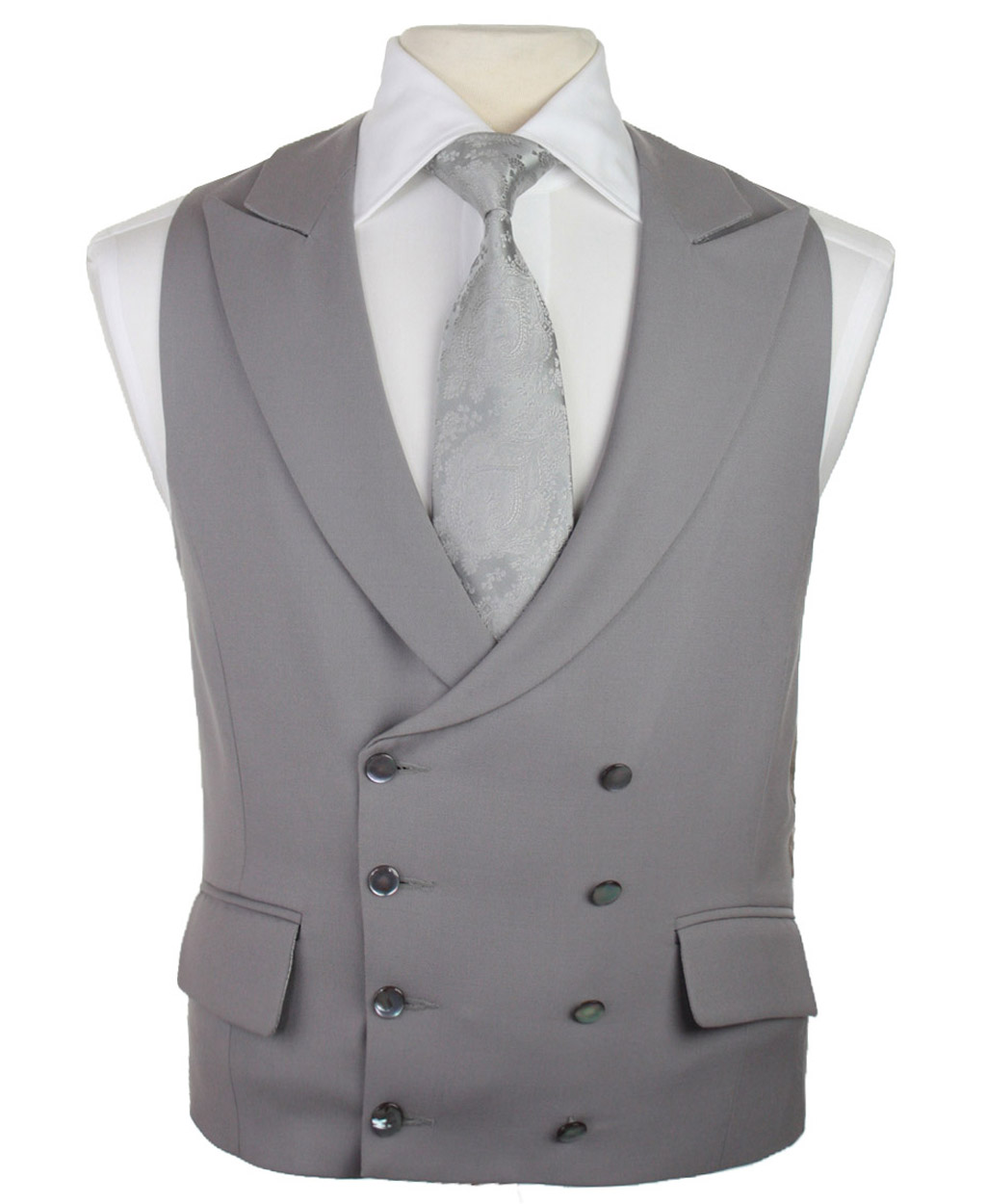 Double Breasted Waistcoats Vest Louis Tailor Pattaya