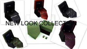 Silk Neck Ties Gift Box