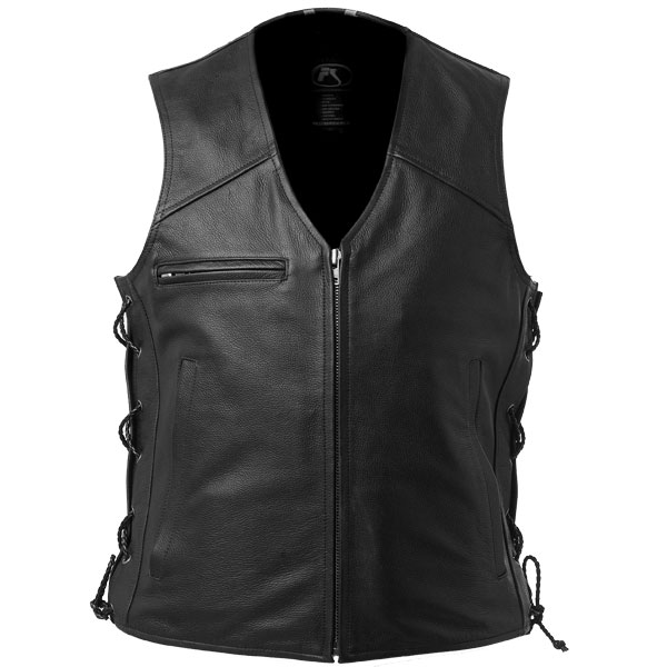 Leather Vest - Made to Measure