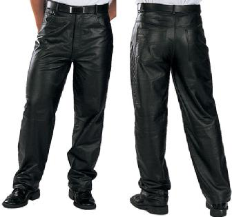 Men Leather Trousers - Custom Made