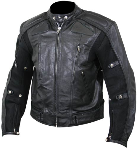 Custom Made Leather Jacket For Men