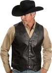Leather Cowboy Vest - Made to Measure - Tailor Pattaya