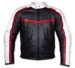 Motor Cycle Fashion Leather Jacket - Custom Made
