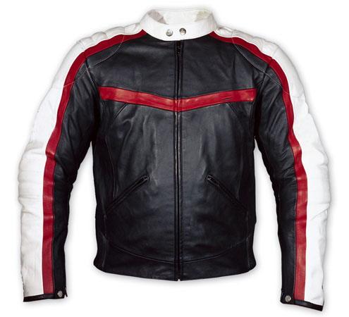 Motor Cycle Fashion Leather Jacket - Custom Made