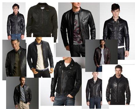 Leather Coat Styles | Down Coat