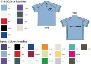 Custom Polo Golf Shirt With Embroidery or Printing